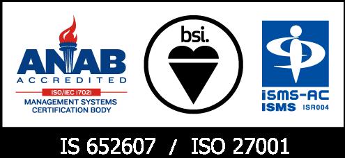 情報セキュリティマネジメントシステム(ISMS)認証取得企業