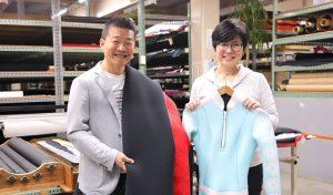 株式会社トータス様:ウェットスーツ製造部材の専門卸売業・販売